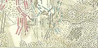 Фрагмент схемы Бородинского сражения.  Поиск.  В начало.