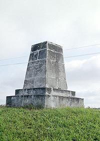 Памятный знак 1-му кавалерийскому корпусу генерала Ф.П. Уварова. Архитектор Н.И. Иванов.