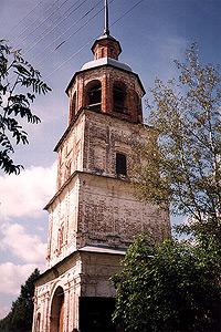 Колокольня Колоцкого монастыря.