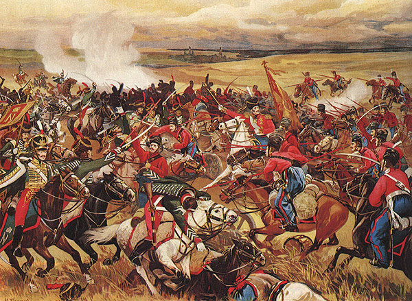 Атака донских казаков м и платова