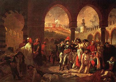Наполеон в городе яффа