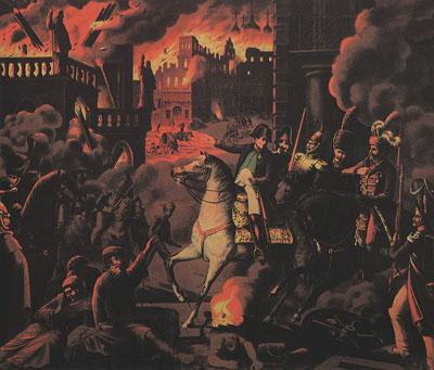 Москва в огне пожара